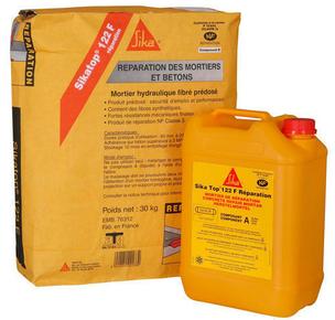 Mortier sikatop 122f r paration kit de 14kg for Mortier de reparation exterieur
