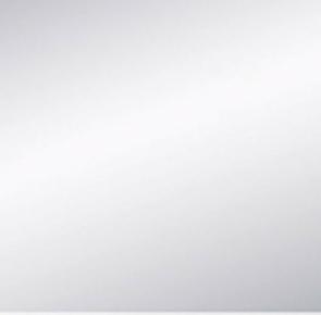 Miroir argent adhésif bords polis ép.3mm 10x10cm - Gedimat.fr