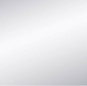 Miroir argent adhésif bords polis ép.3mm 15x15cm - Gedimat.fr