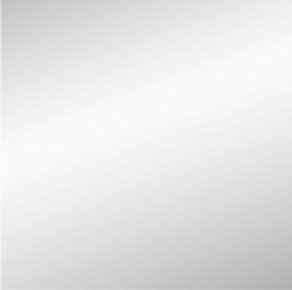 Miroir argent carré adhésif bords polis ép.4mm 45x45cm - Gedimat.fr