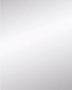 Miroir argent rectangulaire adhésif bords polis ép.4mm larg.60cm long.75cm - Gedimat.fr