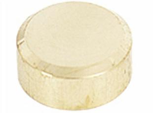 Patte de fixation miroir diam.2cm laiton poli - Gedimat.fr