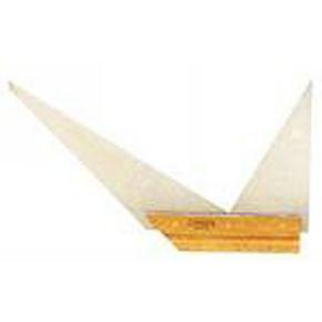 Equerre de menuisier à double onglet lame acier talon bois long.250mm - Gedimat.fr