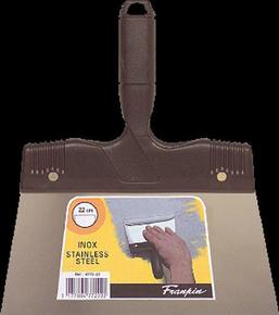 Couteau à enduire inox manche polypropylène 22mm - Gedimat.fr
