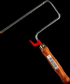 Monture à vis pour rouleau manche bois verni larg.180mm - Gedimat.fr