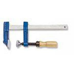 Presse à manche Din saillie 80 section 25x6 serrage 300mm manche bois frêne verni - Gedimat.fr