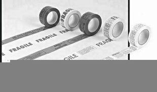 Adhésif PVC marquage fragile larg.50mm long.100m - Gedimat.fr