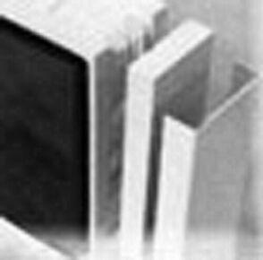 Profils de finition en aluminium laqué blanc pour brique de verre - Gedimat.fr