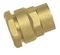 Raccord laiton brut droit femelle à visser diam.26x34mm pour tube polyéthylène diam.32mm en vrac 1 pièce - Gedimat.fr