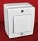 Interrupteur ou va et vient simple pour pose en saillie série BEJING 10A coloris blanc - Gedimat.fr