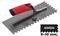 Peigne à colle à poignée RUBIFLEX larg.12cm long.28cm denture U 10mm - Gedimat.fr