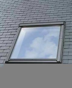 Raccord pour fenêtre VELUX sur ardoises EDL UK04 type 0000 pose traditionnelle - Gedimat.fr