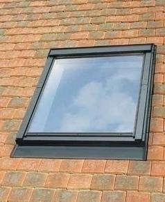 Raccord pour fenêtre VELUX sur tuiles plates EDP SK06 type 0000 pose traditionnelle - Gedimat.fr