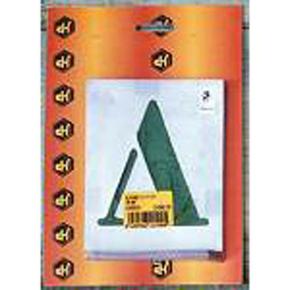 Alphabet à pocher 40mm - Gedimat.fr