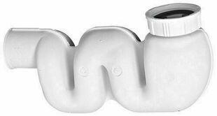 Siphon de lavabo Gamme CLASSIC plastique compact - Gedimat.fr