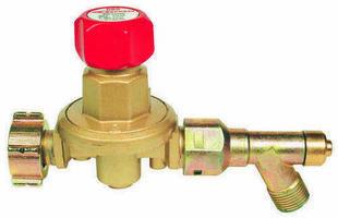 Détendeur propane variable 2 à 4 bar avec manomètre et sécurité - Gedimat.fr
