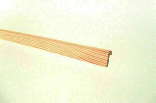 Parclose Pin des Landes sans nœud simple droite P40 long.2m - Gedimat.fr