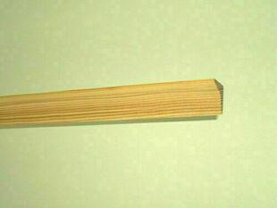 Corniche Pin des Landes sans nœud classique section 18x18mm long.2m - Gedimat.fr