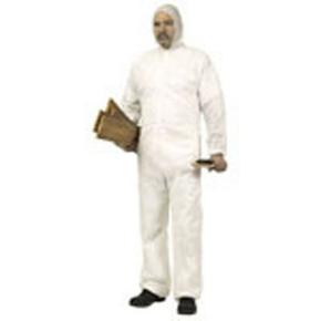 Combinaison jetable avec capuche polypropylène TXL blanc - Gedimat.fr