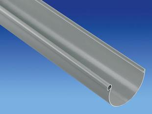 Gouttière PVC demi-ronde de 25 coloris gris long.2m - Gedimat.fr
