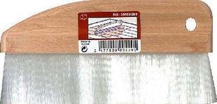 Brosse à vitrifier fibres nylon blanc semelle bois poncé n°200 larg.200mm - Gedimat.fr