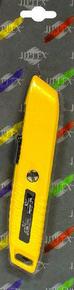Couteau de sécurité corps métal verni - Gedimat.fr