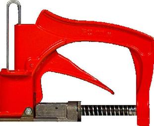 Appareil à vitrer en aluminium rouge - Gedimat.fr
