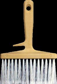 Brosse à encoller fibres PVC manche et semelle polypropylène 15cm - Gedimat.fr