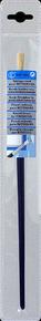 Brosse à tableau ronde fibres soies manche bois verni sous pochette n°10 diam.7mm - Gedimat.fr