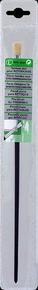 Brosse à tableau plate fibres soies manche bois verni sous pochette n°6 larg.9mm - Gedimat.fr