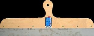 Couteau à enduire projeté inox manche contreplaqué 7 plis long.60cm - Gedimat.fr