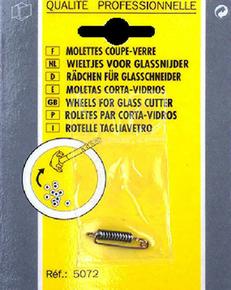Molette de rechange pour coupe verre lot de 12 pièces - Gedimat.fr