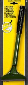 Scraper lame acier trempé de 100mm poignée plastique long.300mm - Gedimat.fr
