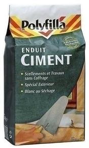 Enduit ciment poudre POLYFILLA boîte de 1kg - Gedimat.fr