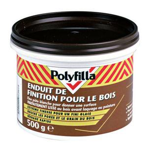 Enduit finition bois - Gedimat.fr