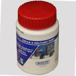 Colle PVC 250 ml bidon + pinceau - Gedimat.fr