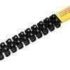 Barette de connexion électrique capacité 4mm² coloris noir barrette de 10 bornes - Gedimat.fr