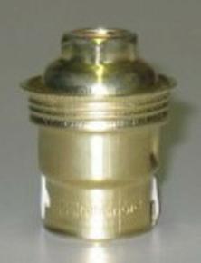 Douille électrique laiton culot à baionnette B22 simple bague - Gedimat.fr