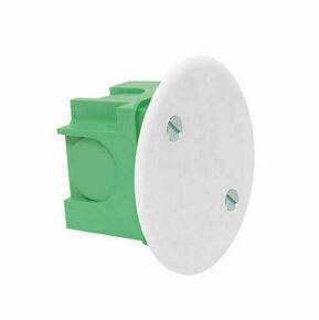 Boîte applique pour maçonnerie standard avec couvercle vendue en sachet - Gedimat.fr