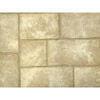 Dallage MANOIR BRADSTONE multiformat pack B en pierre reconstituée aspect pierre de taille ép.4cm coloris Gironde - Gedimat.fr