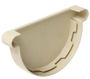 Fond de gouttière PVC de 25 NICOLL FCG25S coloris sable - Gedimat.fr