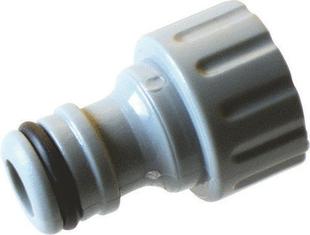 Réduction pour nez de robinet femelle automatique 26/34mm pour tuyau 20mm - Gedimat.fr