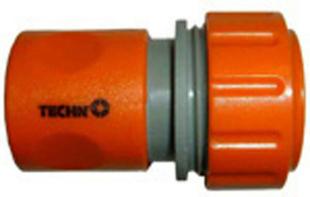 Raccord coupleur d'arrosage plastique automatique diam.15mm sous blister de 2 pièces - Gedimat.fr