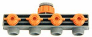 Selecteur 4 directions en plastique automatique pour tuyau diam.15/19mm sous carte - Gedimat.fr