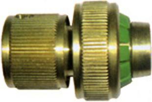 Raccord laiton automatique coupe eau diam.15mm