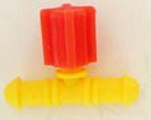 Vanne réglable pour tube conducteur diam.4mm sous coque de 3 pièces - Gedimat.fr