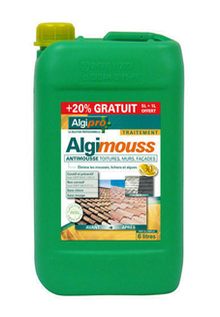 Anti mousse toiture algimousse