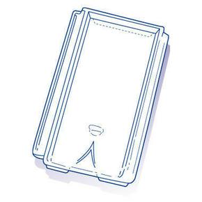 Tuile de verre CHAGNY ( Montchanin Losangée) long.41,5cm larg.24,5cm - Gedimat.fr