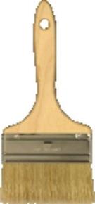 Spalter fibres soies professionnel manche bois brut poncé n°100 larg.100mm - Gedimat.fr