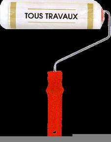 Rouleau indémontable mousse tous travaux manche polypropylène creux larg.180mm diam.18mm - Gedimat.fr
